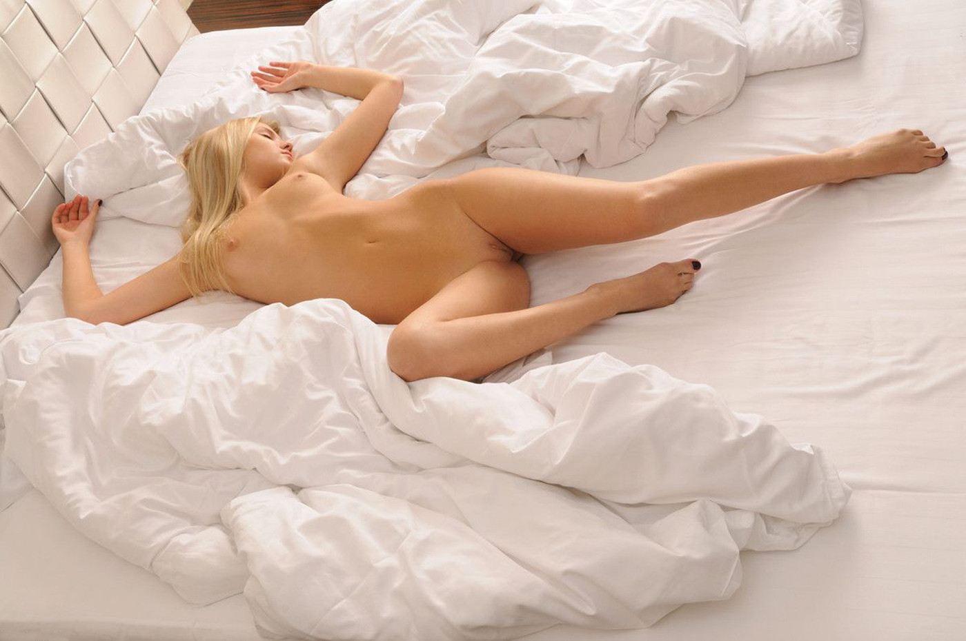 Necessary Hot chick laying down naked not