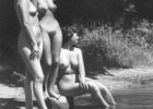 Nude ladies in a vintage photo
